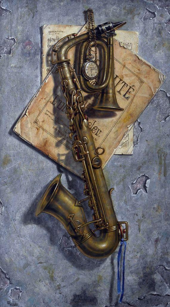Saxo #art #painting
