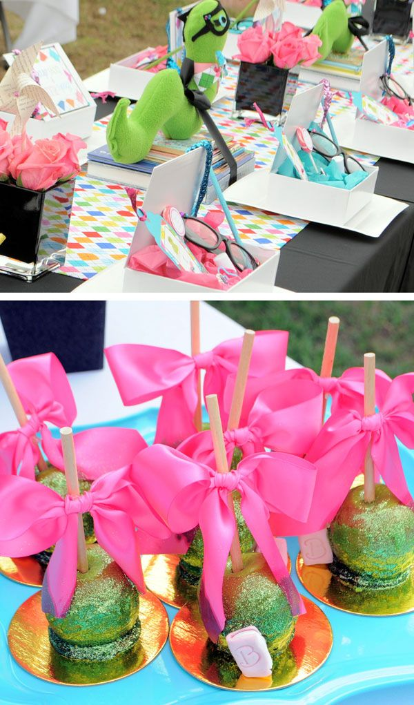 """Am madly in love with this girly """"bookworm"""" party"""