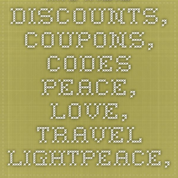 Hotel Discounts, Coupons, Codes - Peace, Love, Travel LightPeace, Love, Travel Light