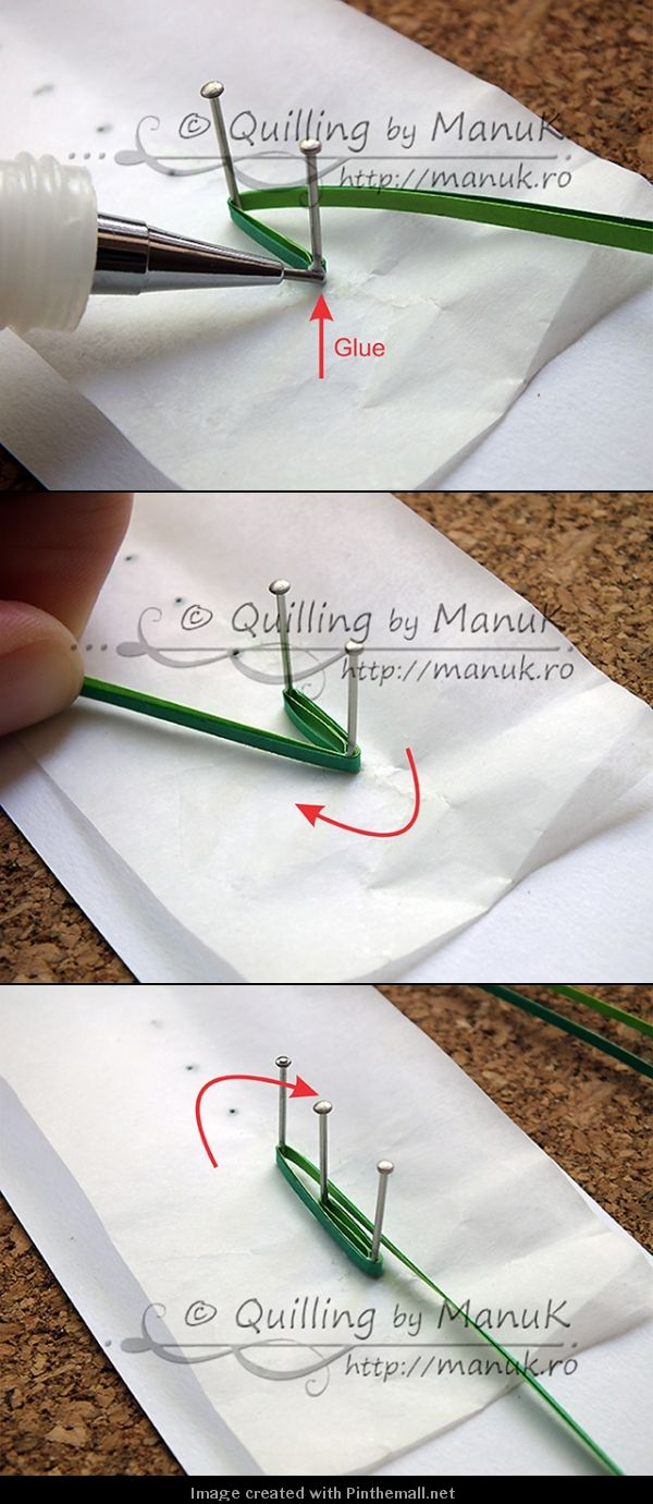 Grass---Part 2 of 4---written directions on post---http://manuk.ro/en/2013/04/quilled-ladybugs-in-the-grass-with-tutorial/
