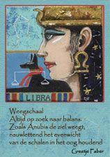 Weegschaal, Schorpioen boogschutter. Sterrenbeelden dierenriem in Egyptische stijl horoscoop