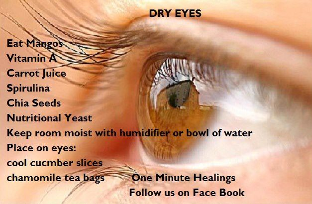 natural dry eye health