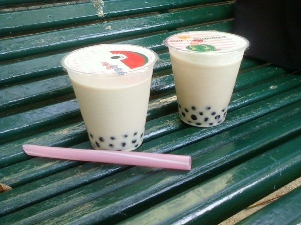 When I'm in Paris I can not give drinking a bubble tea at zen zoo