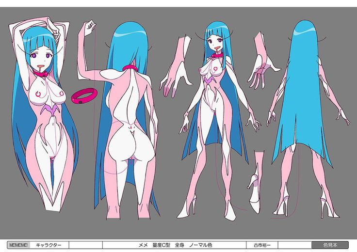 concept anime character designs | TeddyLoid's ME!ME!ME! Anime Music Video Is a Weird Acid Trip of ...