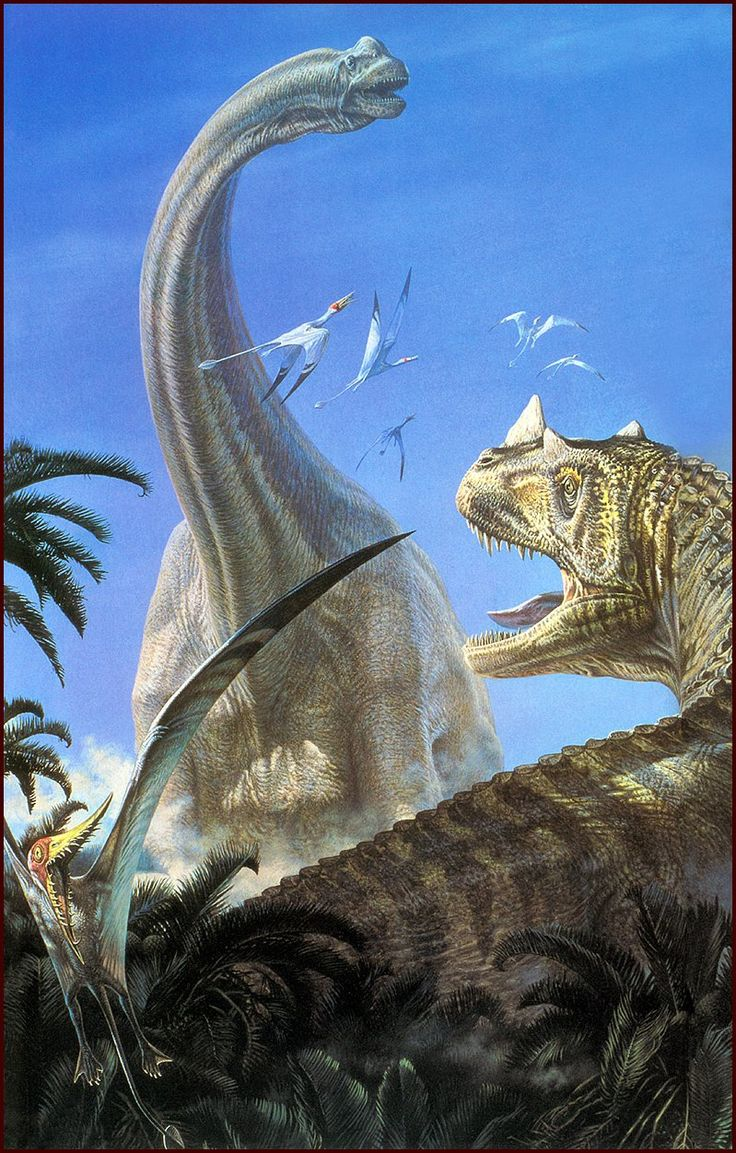 Ceratosaurus: I have been sent to kill you! Brachiosaurus: Don't mess with me bro. They don't call me ARM LIZERD for nothing. Pterosaur: Scew this I'm OUT