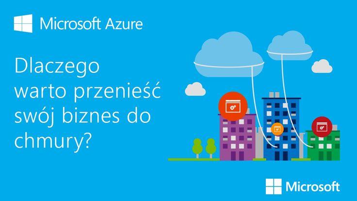 Obrazowo przedstawiamy korzyści, jakie daje chmura Microsoft Azure. Microsoft Azure to możliwość tworzenia nowoczesnych aplikacji. W Microsoft Azure masz moż...