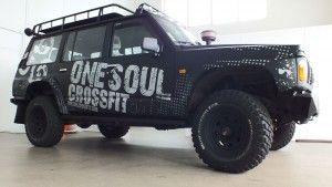 Esta viatura para a One Soul Crossfit ficou espetacular ;)