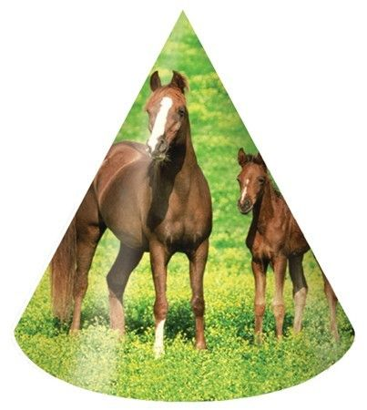 Party Time Celebrations  - Horse Party Hats, $4.95 (http://www.partytimecelebrations.com.au/horse-party-hats/)