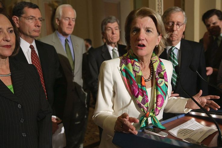 We'll soon find out. Sen. Capito (R-WV)was actually willing to meet with constituents about Trumpcare, more than many of her Republican colleagues have done. Butwhat happens after this meeting is what counts. In this clip she's meeting a mother...
