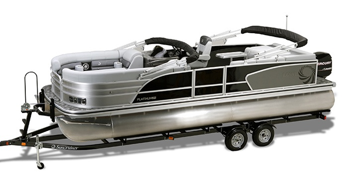 Image detail for -... by lowe pontoon boats it is one really cool looking pontoon boat
