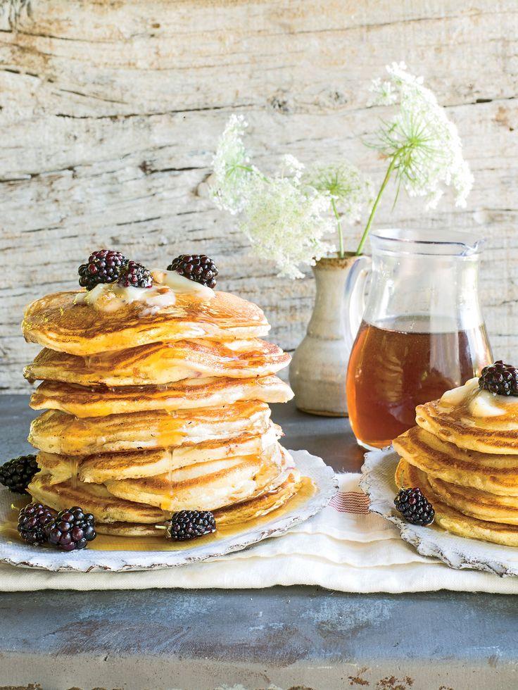 Blackberry-Lemon Griddle Cakes Recipe