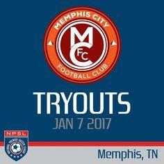 Memphis City FC 2017 Open Tryouts NPSL
