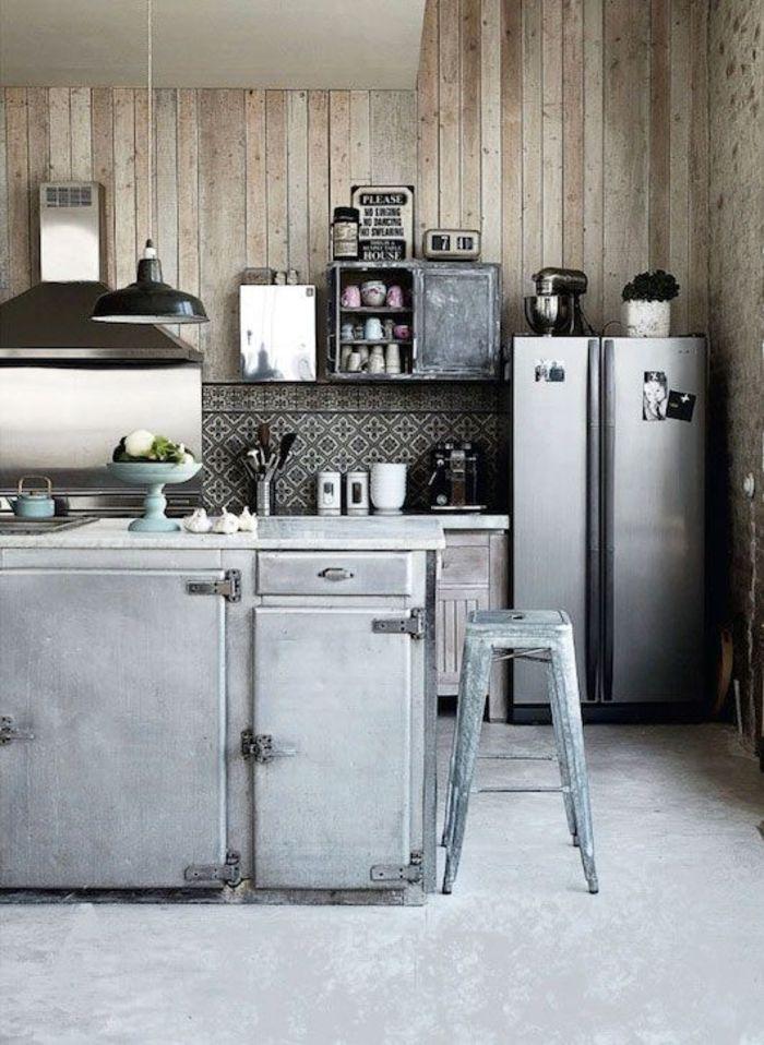 kochinsel industral style möbel in der küche