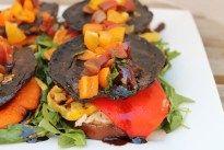 Portobello Eggplant Stacks