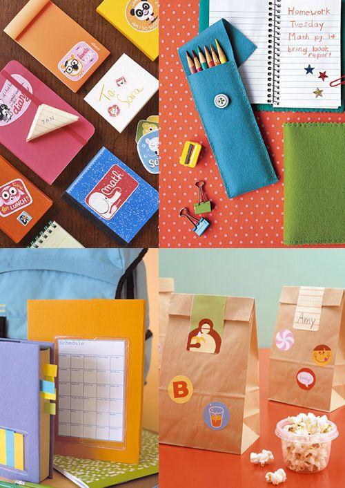 Martha Stewart back to school supplies via Shoplet