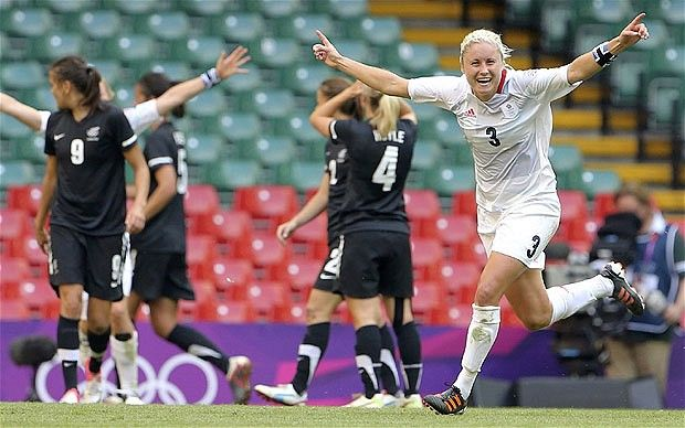 London 2012 Olympics: Team GB opens the Games with 1-0 victory over New Zealand  Stephanie Houghton gave Team GB the perfect start to the 2012 Olympics with the only goal of the game at the Millennium Stadium.