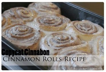 Cinnamon Rolls Recipe | Copycat Cinnabon Recipe