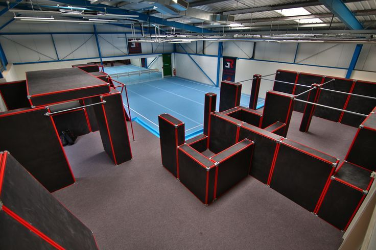 indoor parkour equipment - Google Search