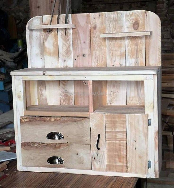 Best 25+ Pallet Kitchen Cabinets Ideas On Pinterest