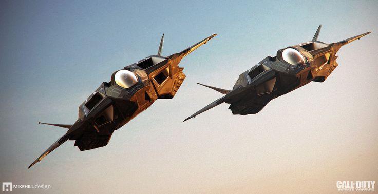 Jackal Formation - Call of Duty Infinite Warfare, Mike Hill on ArtStation at https://www.artstation.com/artwork/mlErY