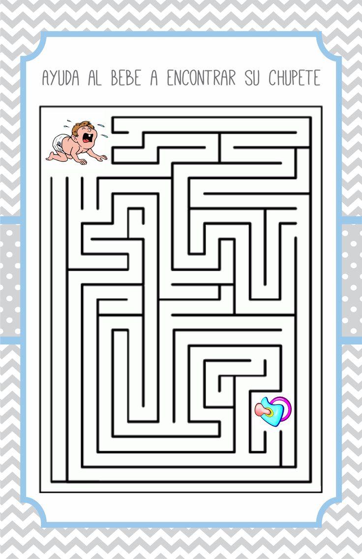 Baby Shower Juegos Pdf ~ Las mejores ideas sobre juegos para baby shower en