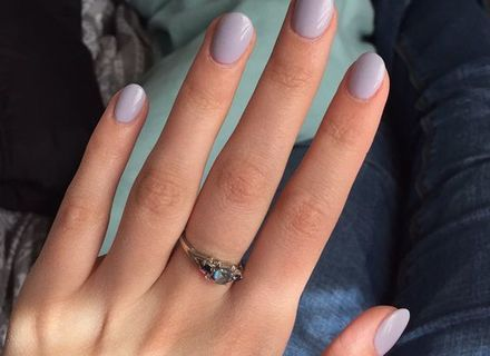 image result for short round acrylic nails  acrylics in