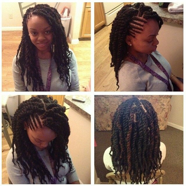 Corn Rows with Box Twists
