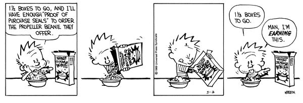 61a5a768d43 Calvin and Hobbes by Bill Watterson for March 02
