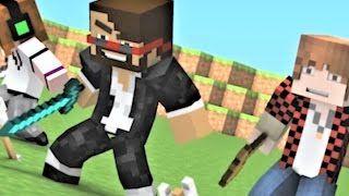 NEW SONG: Hacker 1-3 Minecraft Music Video Series - Hacker 3 Minecraft Songs and Minecraft Animation - YouTube