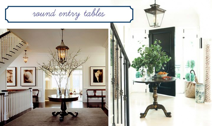 Fantastic Foyer Ideas To Make The Perfect First Impression: 25+ Best Ideas About Round Entry Table On Pinterest
