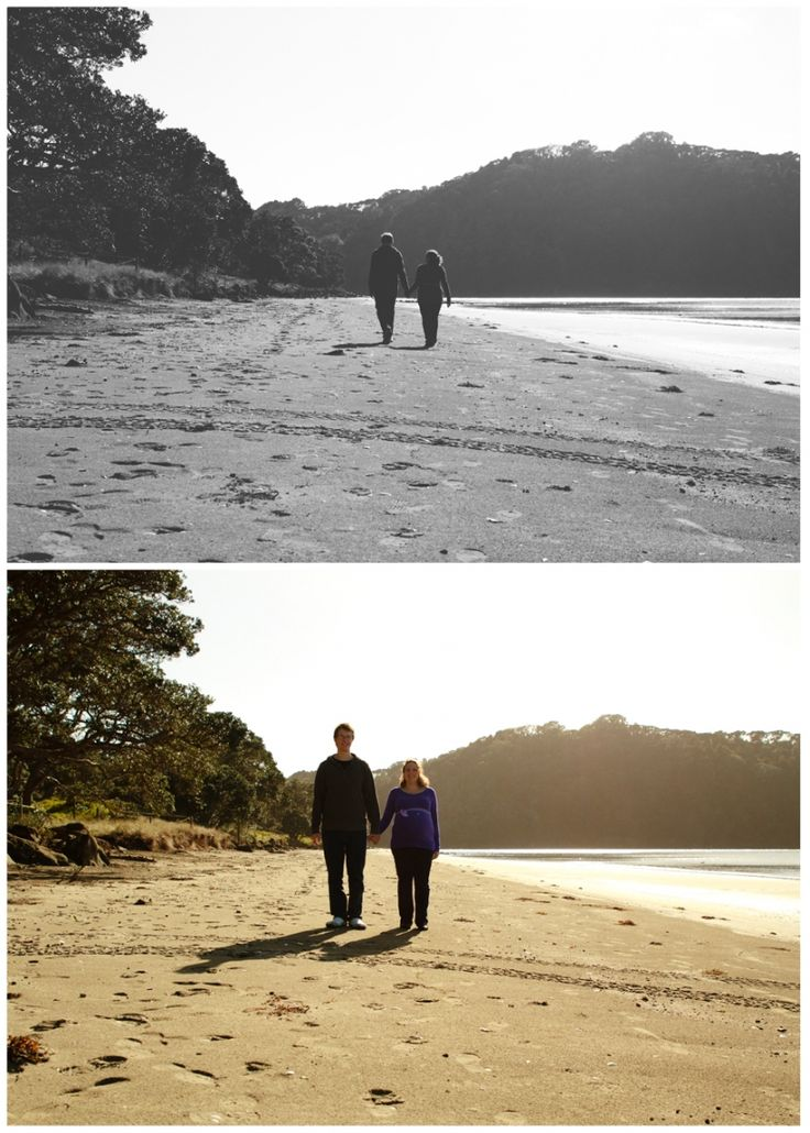 Auckland Maternity Photographer at Wenderholm Regional Park - Ari and Sky Photography
