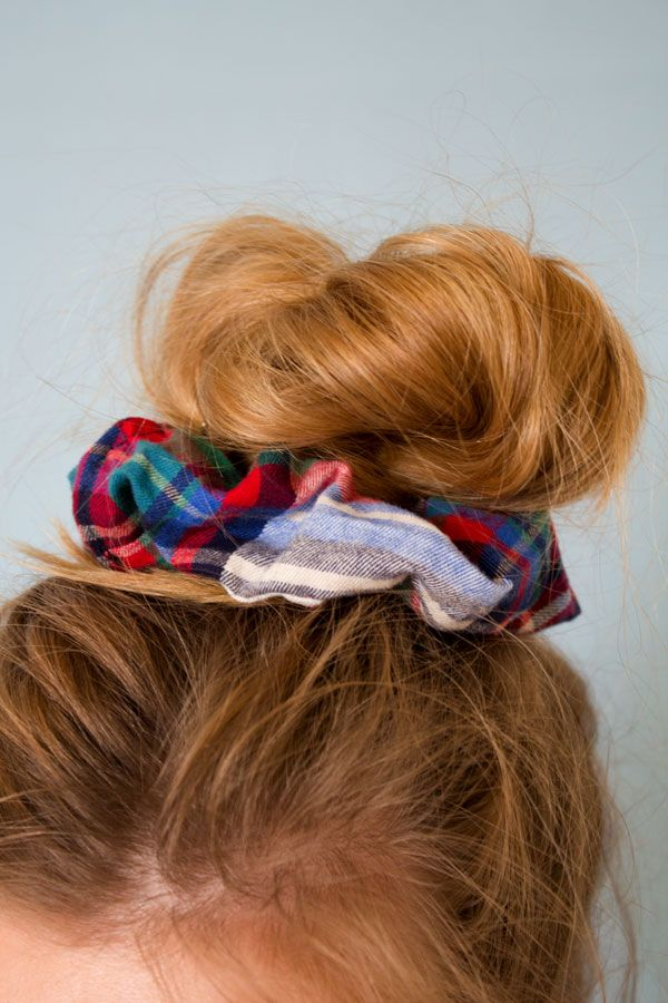 Got any fabric scraps lying around? It's so easy to whip them up into a scrunchie!