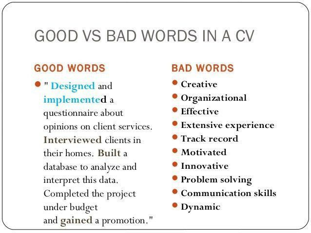 14 Good Resume Vs Bad Resume Resume Examples Good Resume Examples Federal Resume