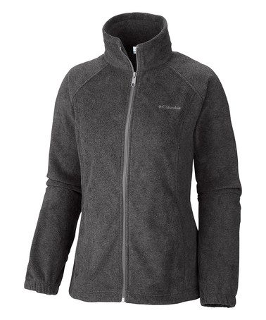 Look what I found on #zulily! Charcoal Benton Springs Fleece Zip-Up Jacket #zulilyfinds