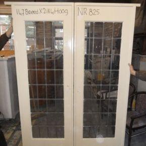Glas in lood schuifdeur Nr. 825