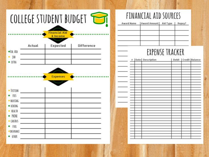 17 Best ideas about College Student Budget on Pinterest | College ...