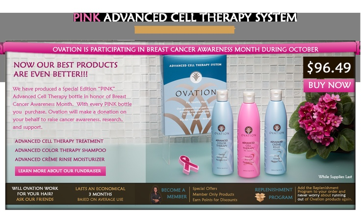 welcome to ovation hair ovation cell therapy system