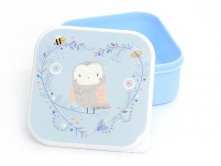 Boîte hermétique / lunchbox - Chouette