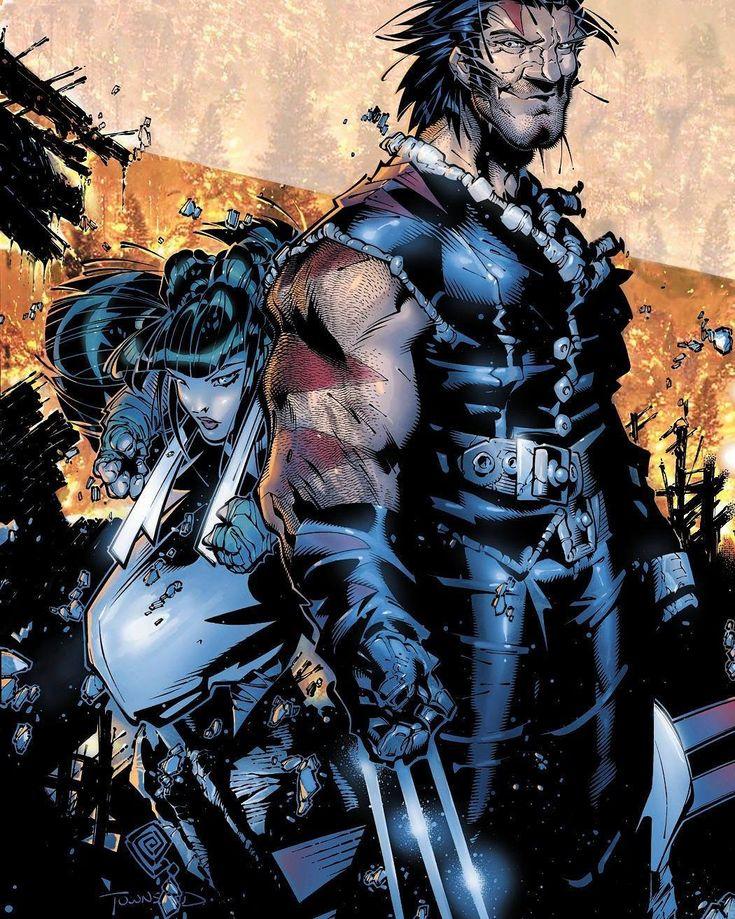 X-Men: Age of Apocalypse 1 Cover. #ChrisBachalo #AkiraYoshida #X23 #KirikaYashida #OldManLogan #AgeofApocalypse #XMenApocalypse #Apocalypse #XMen #XMenComics #Wolverine #Logan #WeaponX #Earth51518 #SecretWars #Mutants #Earth616 #Superheroes #MarvelComics #MarvelNOW #Marvel #Comics #MarvelUniverse #ComicBooks #ComicsDune