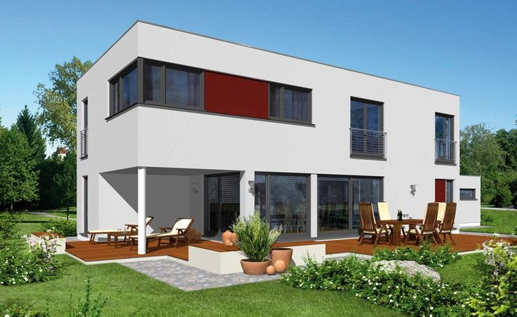 haas fertighaus top line k1 kubus haus der absolut perfekte grundriss architektur. Black Bedroom Furniture Sets. Home Design Ideas