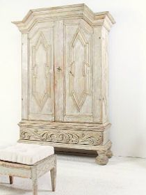 French antique furniture, art deco interior decoration, painted chests, mirrors and more from Anton & K