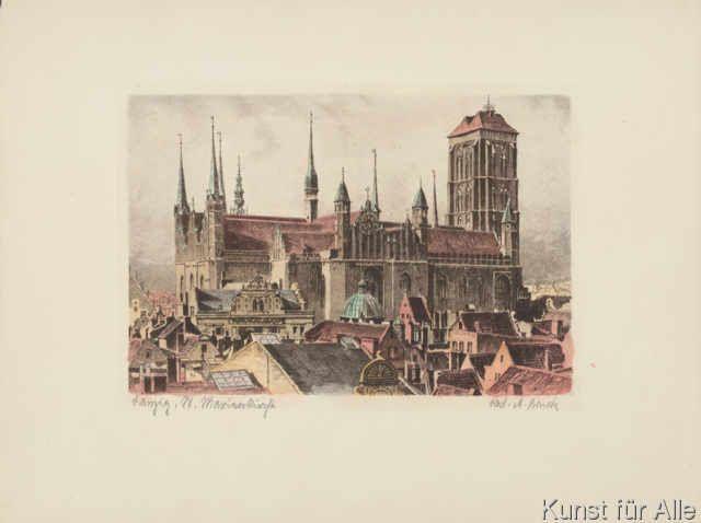 Bruck+-+Danzig,+St.Marienturm+rechts
