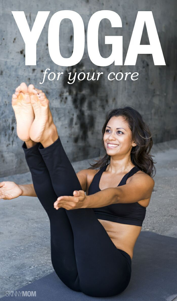 The best yoga moves for your core - with video!