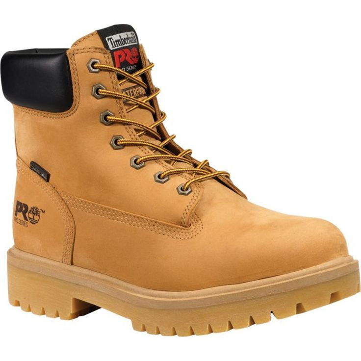 """Timberland PRO Men's Direct Attach 6"""" Steel Toe Work Boots, Brown"""