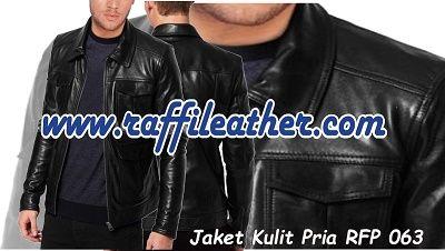 Jaket Kulit Pria RFP 063 ~>  Info 085320637888 Pin 5CDC1DFC #Jaketkulit #Jaketkulitpria