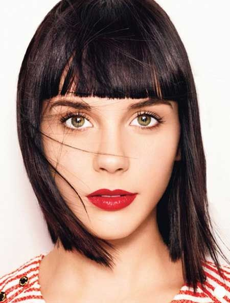 length hair styles best 25 bob hairstyles with bangs ideas on 9309
