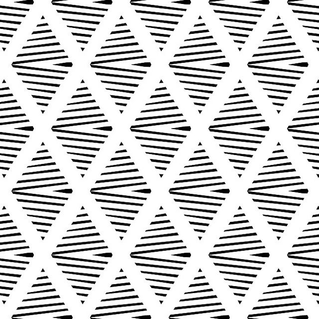 #pattern #design BW Pattern Canvas Print by Georgiana Paraschiv