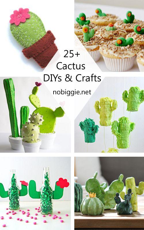 25+ Cactus DIYs and Crafts | NoBiggie.net