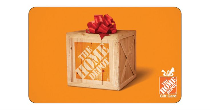 Win a 3000 home depot gift card in 2020 gift card sale