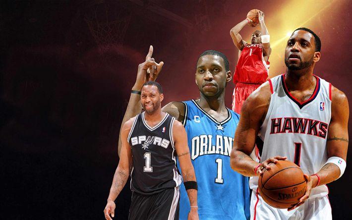 Download imagens NBA, cartaz, estrelas de basquete, basquete